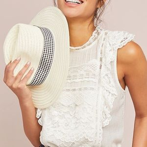 Maeve by Anthropologie Lace Blouse Tank